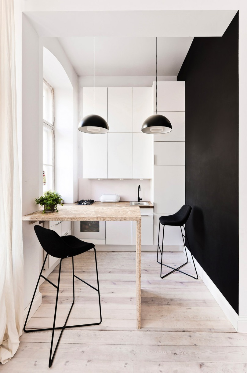 How to design a functional kitchen: 3XA - 29m2