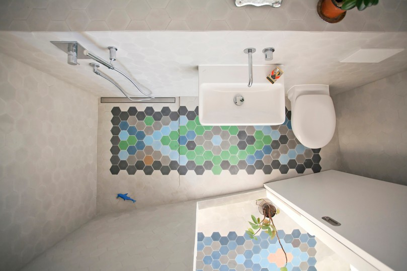 How to design a shower: Bureau A - The Apartment
