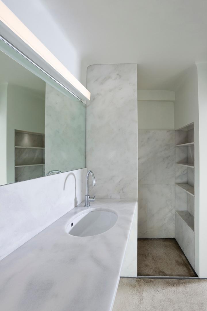 How to design a shower: Eleanna Horiti - The White House