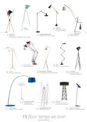 15 floor lamps we love | upgradesign