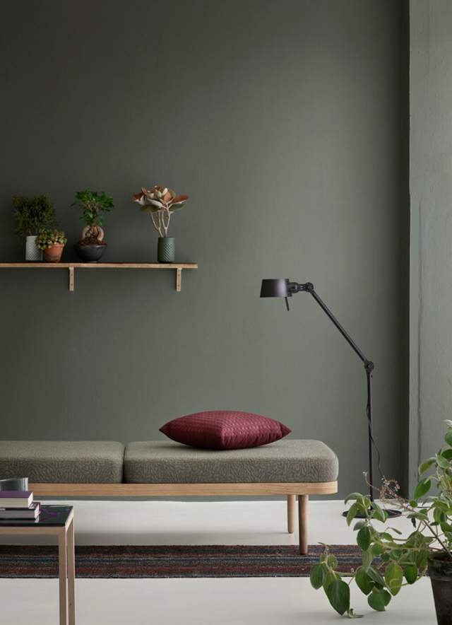 Floor lamps we love: Relaxing spot with beautiful floor lamp