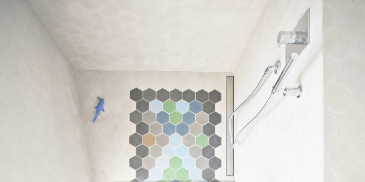 How to design a shower