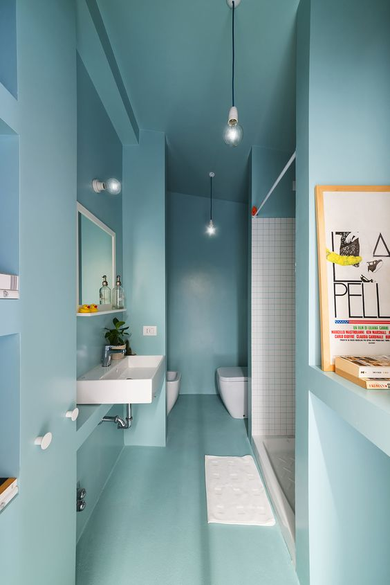 How to design a shower: Studio WOK - OCS batipin flat