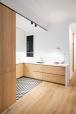 Interior lighting   glow light   kitchen design   EO arquitectura - Alan's apartment renovation