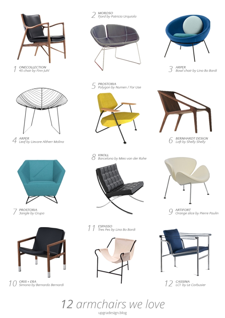12 armchairs we love | upgradesign