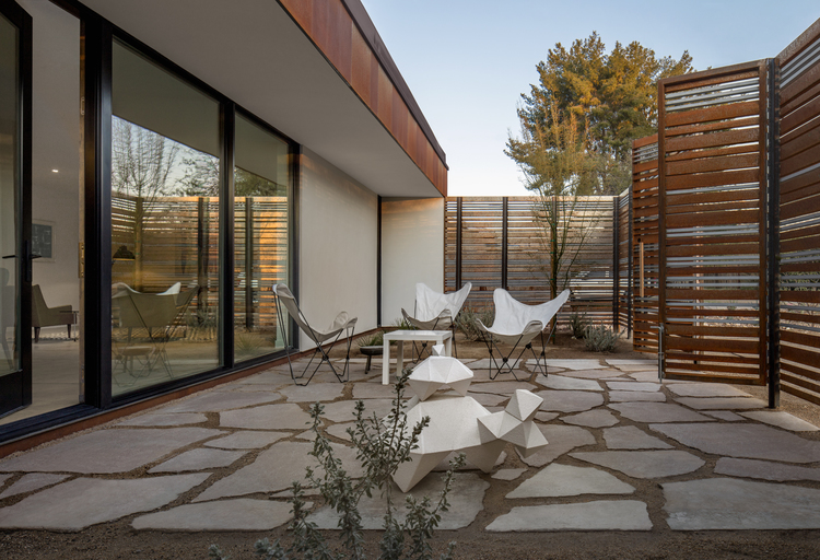 An outdoor space should be an extension of the interior: coLAB studio - Vali Homes prototype