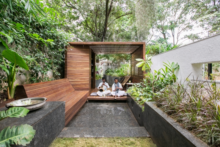 An outdoor space should be an extension of the interior: Collective Project - Garden Folly