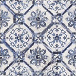 Old pattern wall tiles