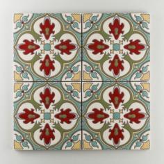 Fireclay Tile - The Mediterranean Collection - Barella Warm Motif