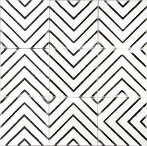Marrakech Design - Goose-eye - milk/kohl