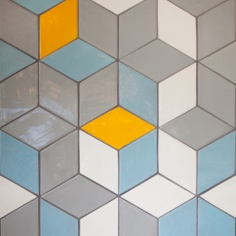 Mercury Mosaics - Diamonds tiles