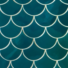 Mercury Mosaics - Moroccan Fish Scales tiles