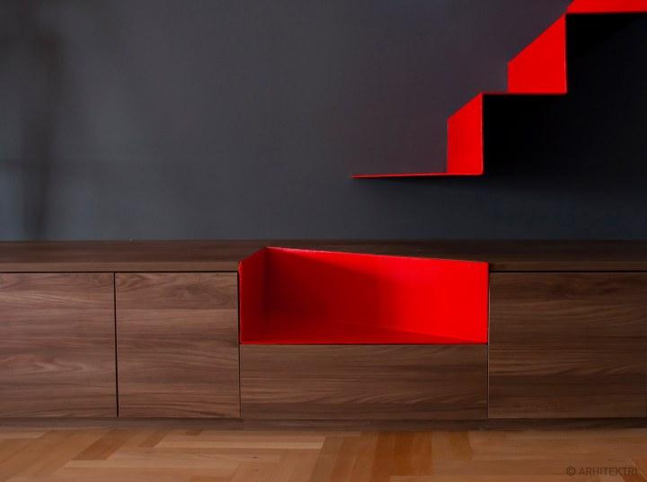 Stair detail: Arhitektri - Apartment [MV]