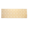 ZARA HOME - OCHRE PATTERNED PLASTIC RUG (INDOOR AND OUTDOOR)