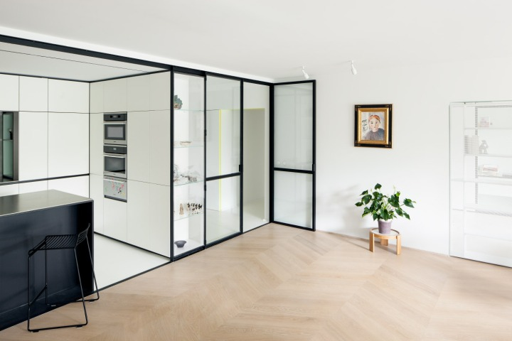 The ultimate guide to partition walls: i.s.m.architecten - LVDV: glass partition