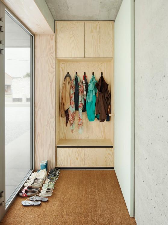 Home inspiration | single family house | design ideas | entryway organization