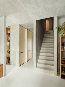 Home inspiration | single family house | stairs design ideas | concrete in interiors