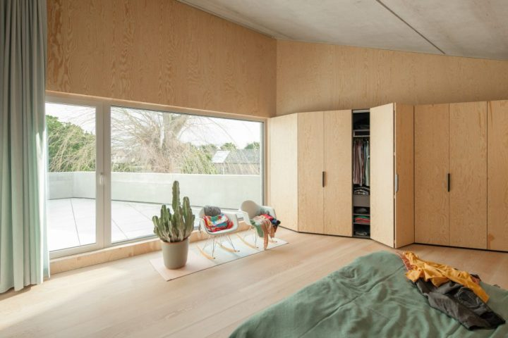 i.s.m.architecten - TDH: master bedroom