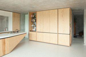 i.s.m.architecten - TDH: kitchen storage space