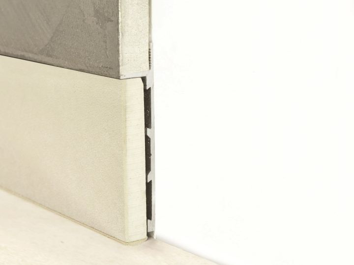 PLANO BFW Aluminium Skirting board - PROFILITEC Plano Line®