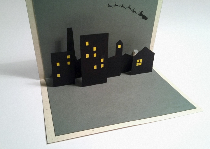 CITY pop-up card | upgradesign