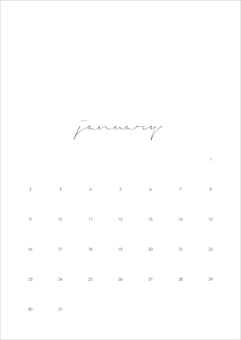 2017 calendar - months   upgradesign