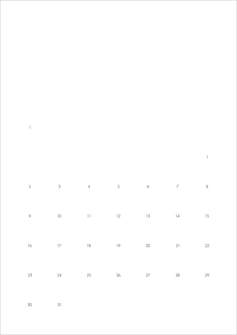 2017 calendar - numbers   upgradesign