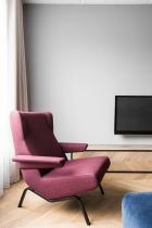 Color in an interior: AKTA studio - Apartment in Basanavičius st.