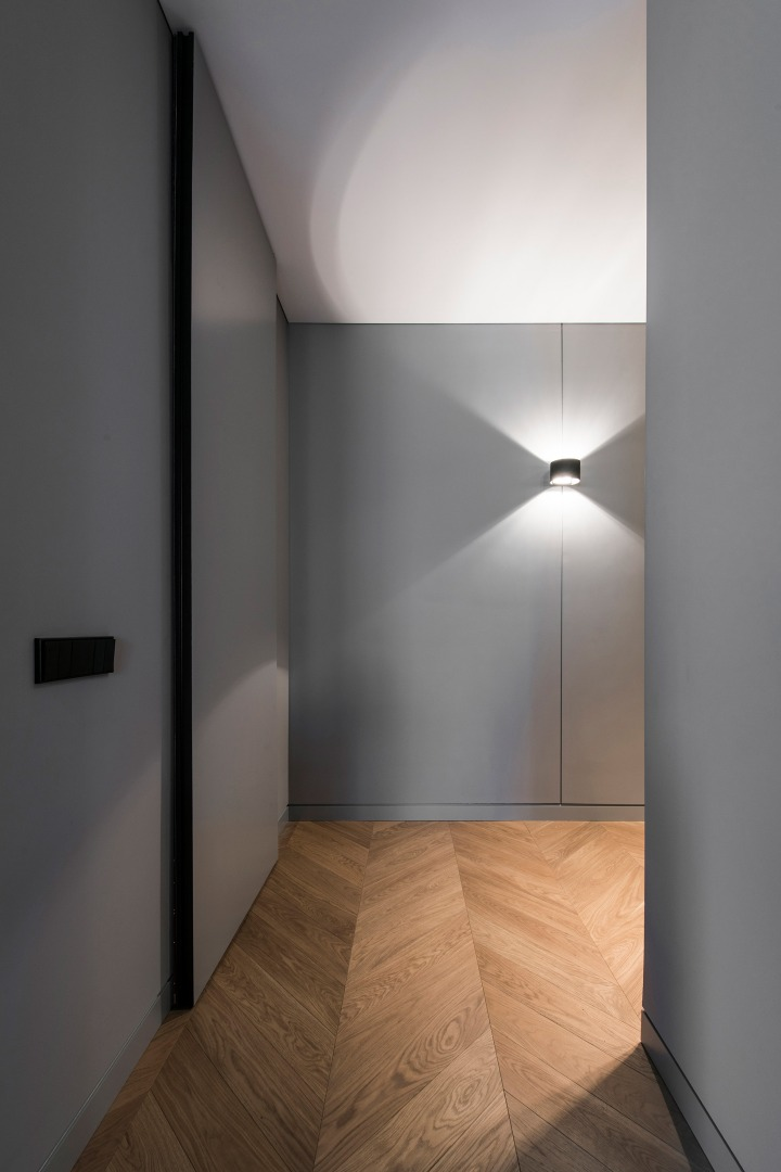 Interior lighting | stimulating enviroment | AKTA studio - Apartment in Basanavičius st.