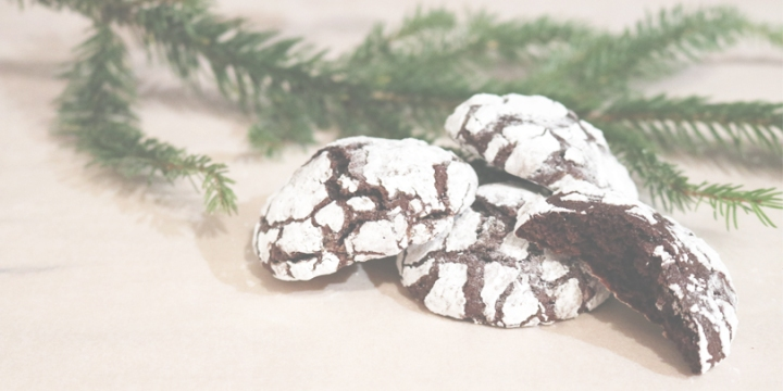 Christmas chocolate crinkles: Christmas special | upgradesign