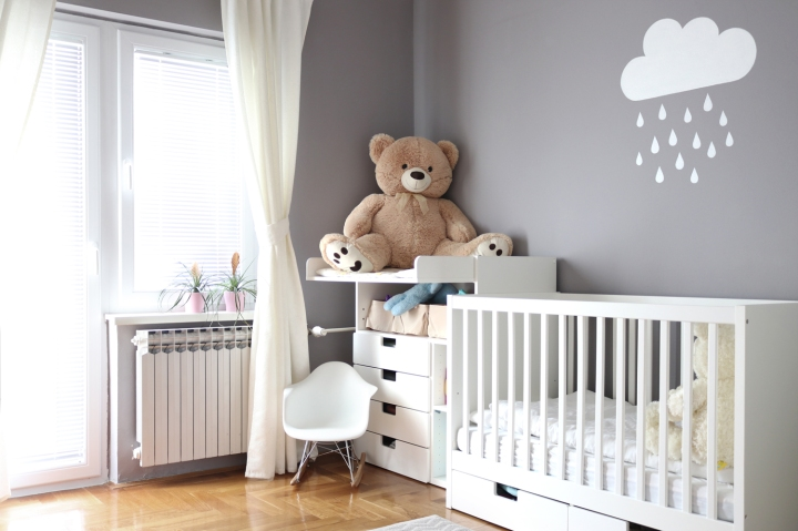 How to design kids room: baby girl's room | upgradesign