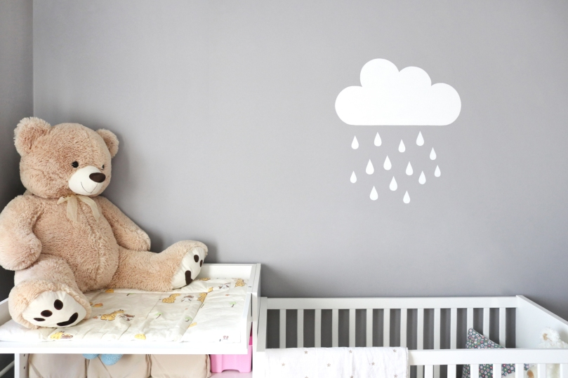 How to design kids room: baby girl's room | upgradesign