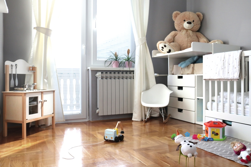 How to design kids room: baby girl's room - play time! | upgradesign