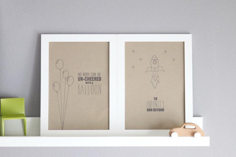 How to design kids room: baby girl's room - shelf detail | upgradesign
