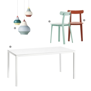 Do you even need a dining room: COLOR dining area