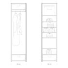 Quick tips for closet design: closet 50cm