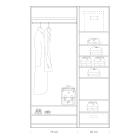Quick tips for closet design: closet 75 + 50cm