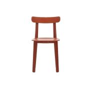 Vitra - All Plastic Chair RED // design Jasper Morrison