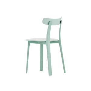 Vitra - All Plastic Chair BLUE // design Jasper Morrison