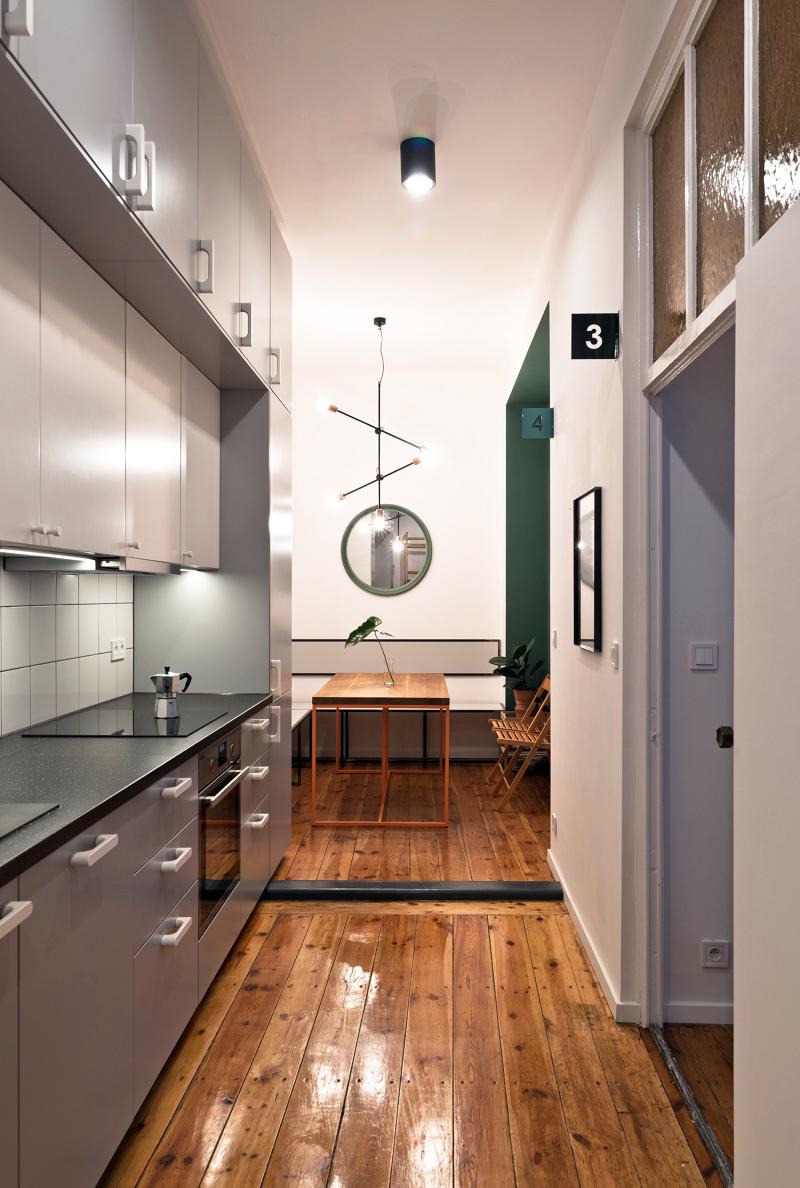 How to design a practical kitchen: Adam Wiercinski Architekt - K103-6