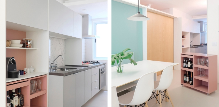 How to design a practical kitchen: CIAA - Icaraí Apartment