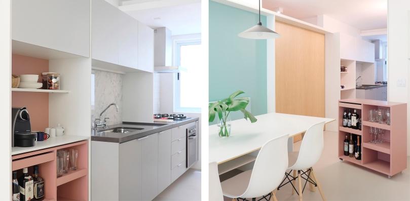 How to design a practical kitchen: CIAA - Icaraí Apartment