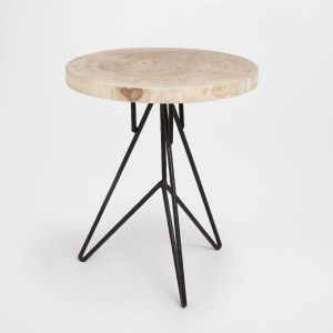 Tips and tricks for perfect bedroom: ZARA HOME LITTLE ROUND TABLE WITH IRON LEGS | upgradesign