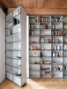 Home inspiration | open bookshelves | living room idea