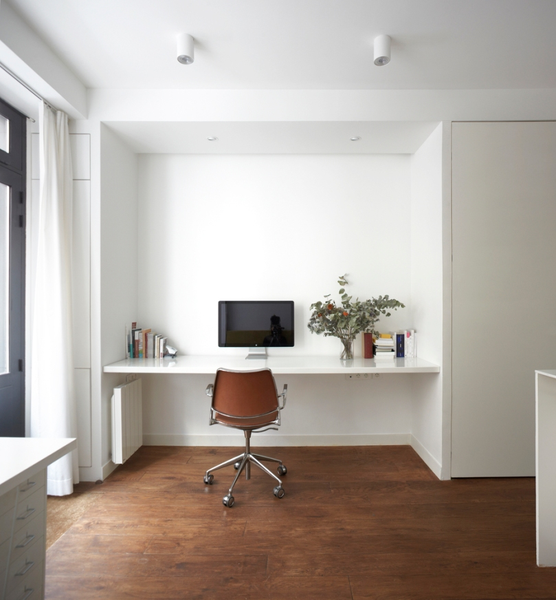 Home renovation in four steps - step three: studio PAN – Live-work in the heart of Paris