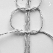 DIY Macrame plant hanger: Spiral knot | upgradesign