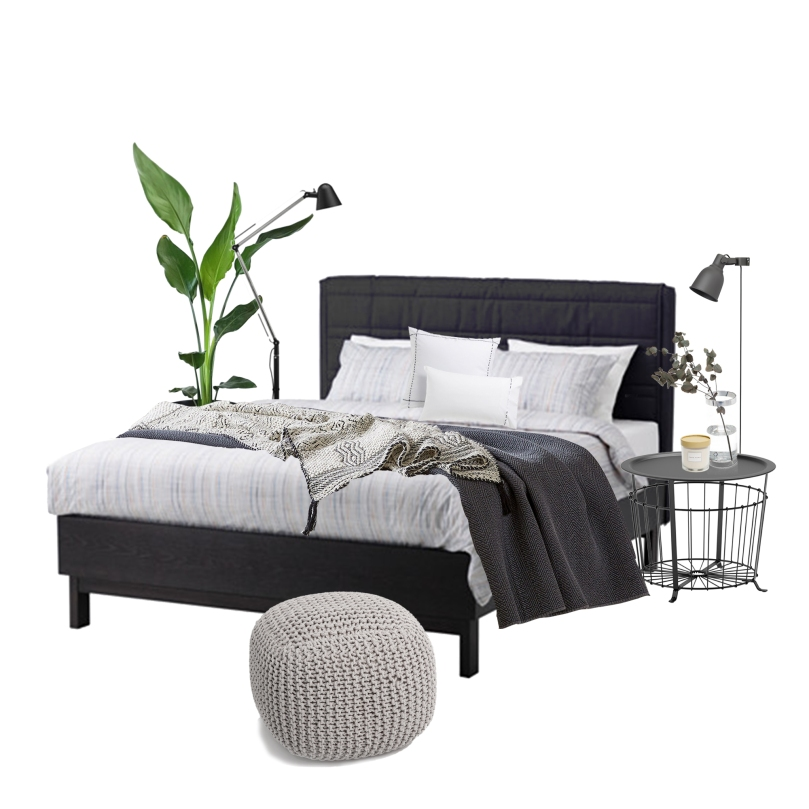 Tips and tricks for perfect bedroom: MOOD BOARD - DARKER COLORS BEDROOM | upgradesign