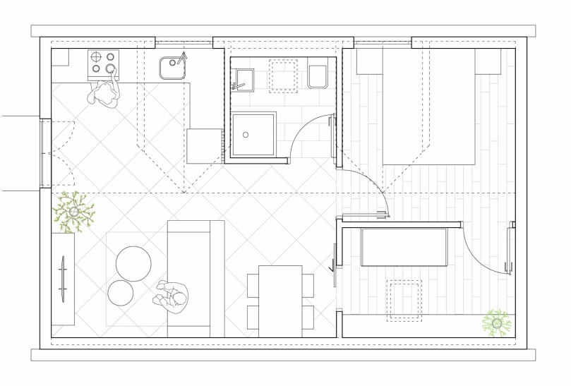 7 reasons why you should hire an architect: summer house - floor plan #2