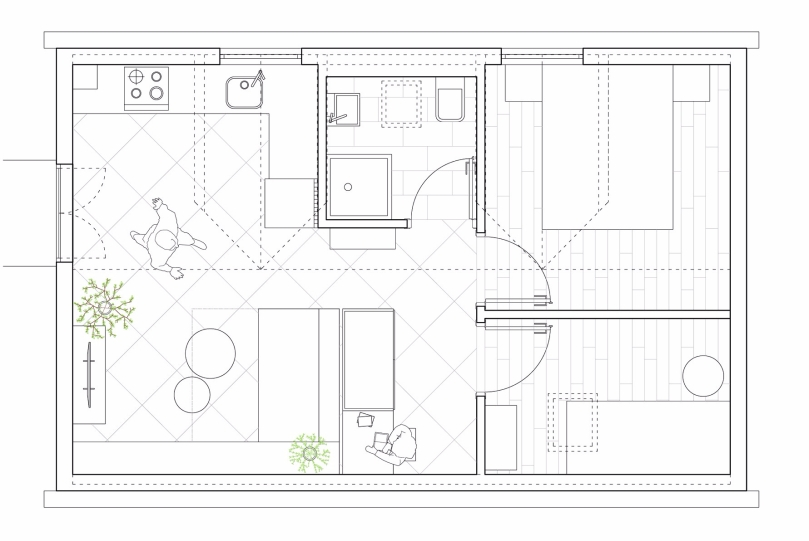 7 reasons why you should hire an architect: summer house - floor plan #1