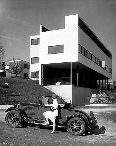 Why simple will always be trendy: year1929 - Le Corbusier - Weissenhofsiedlung